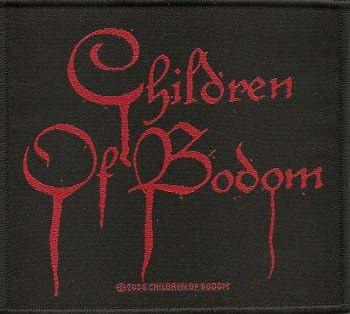 "Children Of Bodom ""Blood Logo"" Patch"