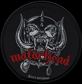 "Motörhead ""War Pig"" Patch"
