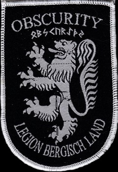"Obscurity ""Wappen Weiß"" Patch"