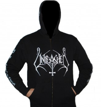 "Unleashed ""The Hunt For White Christ"" Zip Hoodie"