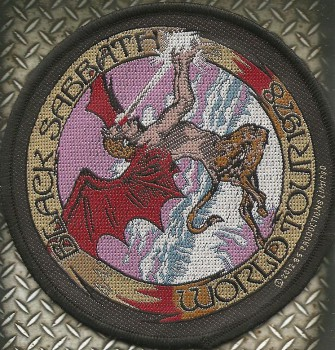 "Black Sabbath ""World Tour 78"" Patch"