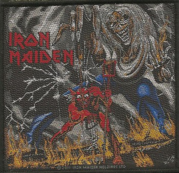 "Iron Maiden ""Number Of The Beast"" Patch"
