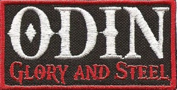 "Odin ""Glory And Steel"" Patch"