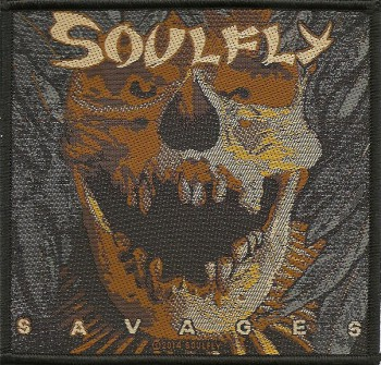 "Soulfly ""Savages"" Patch"
