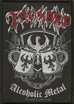 "Tankard ""Alcoholic Metal"" Patch"