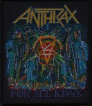 "Anthrax ""For All Kings"" Patch"