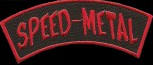"""Speed Metal"" Banner Patch"