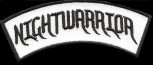 """Nightwarrior"" Banner Patch"
