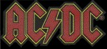 "AC/DC ""Logo Cut Out"" Patch"