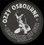 "Ozzy Osbourne ""Blizzard Of Ozz"" Patch"