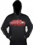 "Blood God ""Blood Is My Trademark"" Zip Hoodie"