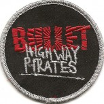 "Bullet ""Highway Pirates"" Patch"