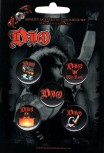 "DIO ""We Rock"" Button Pack"