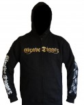 "Grave Digger ""Healed By Metal"" Zip Hoodie"