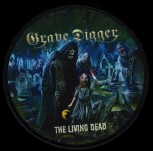 "Grave Digger ""The Leaving Dead"" Patch"