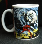 "Iron Maiden ""Number Of The Beast"" Tasse"