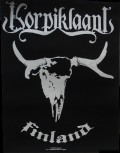 "Korpiklaani ""Finland"" Backpatch"