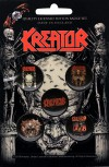 "Kreator ""Skull & Skeletons"" Button Pack"