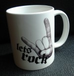 """Lets Rock"" Tasse"