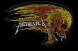 "Metallica ""Flaming Skull Cut Out"" Patch"