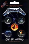 "Metallica ""Ride The Lightning"" Button Pack"