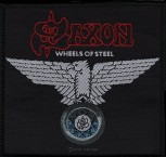 "Saxon ""Wheels Of Steel"" Patch"