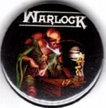 "Warlock ""Burning The Witches"" Button"