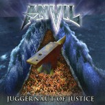 "Anvil ""Juggernaut Of Justice"" CD"