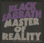 "Black Sabbath ""Master Of Reality"" Patch"