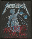 "Metallica ""And Justice For All"" Patch"