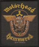 "Motörhead ""Hammered"" Patch"