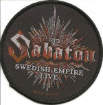 "Sabaton ""Swedish Empire Live"" Patch"